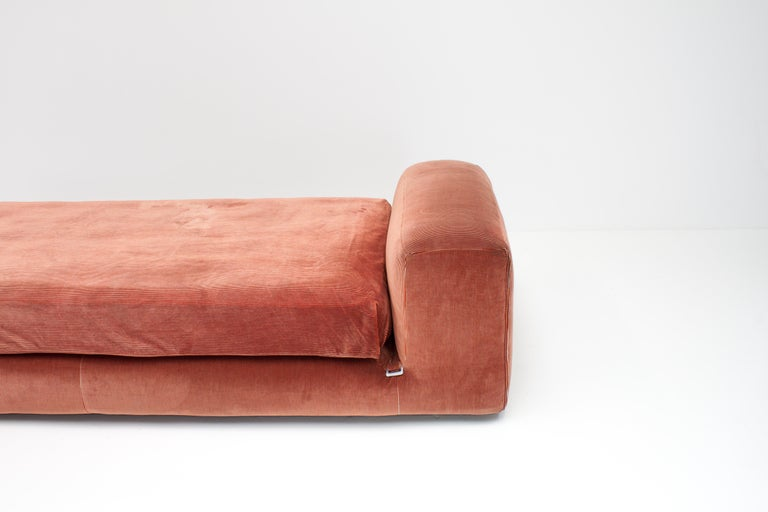 Fabric Mario Bellini 'Le Mura' Daybed, Designed in 1972 for Cassina, Italy For Sale