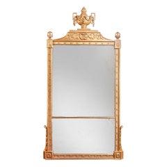 Massive George III Giltwood Mirror