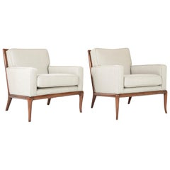 Matched Pair of T.H. Robsjohn-Gibbings Armchairs