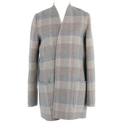 A Max Mara Duster Jacket, Wool And Angora Blend, Very Soft. Only Worn Once.