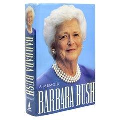 A Memoir, Signed by Barbara Bush, in Original Dust Jacket