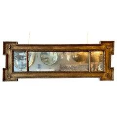 Mid 18th Century George II Period Overmantel Mirror