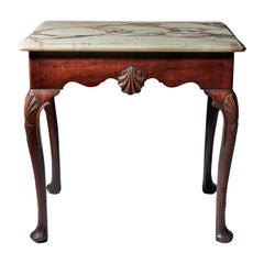 Mid-18th Century Irish Mahogany Console Table of Small Proportions