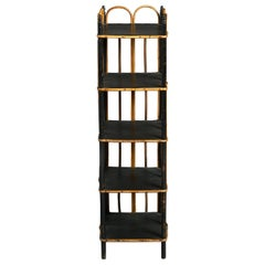 Mid-19th Century Victorian Bamboo Shoe Rack