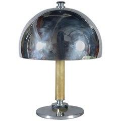 A Mid 20th Century Chrome Lamp Base