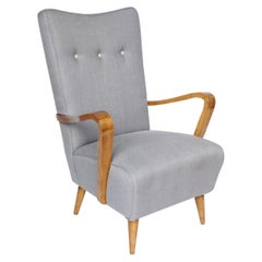 Mid-Century Italian Armchair Attributed to Osvaldo Borsani