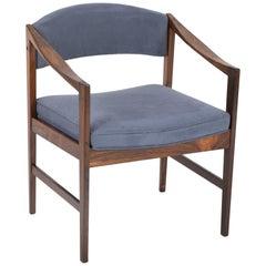 Mid-Century Modern Danish Rosewood Desk Chair