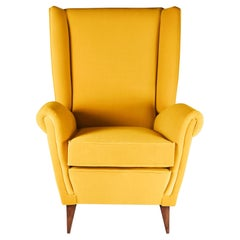 Mid-Century Modern Inspired Italian Style 'Marcello' Lounge Chair