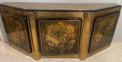 Mid-Century Modern Mastercraft Tree of Life Console or Sideboard