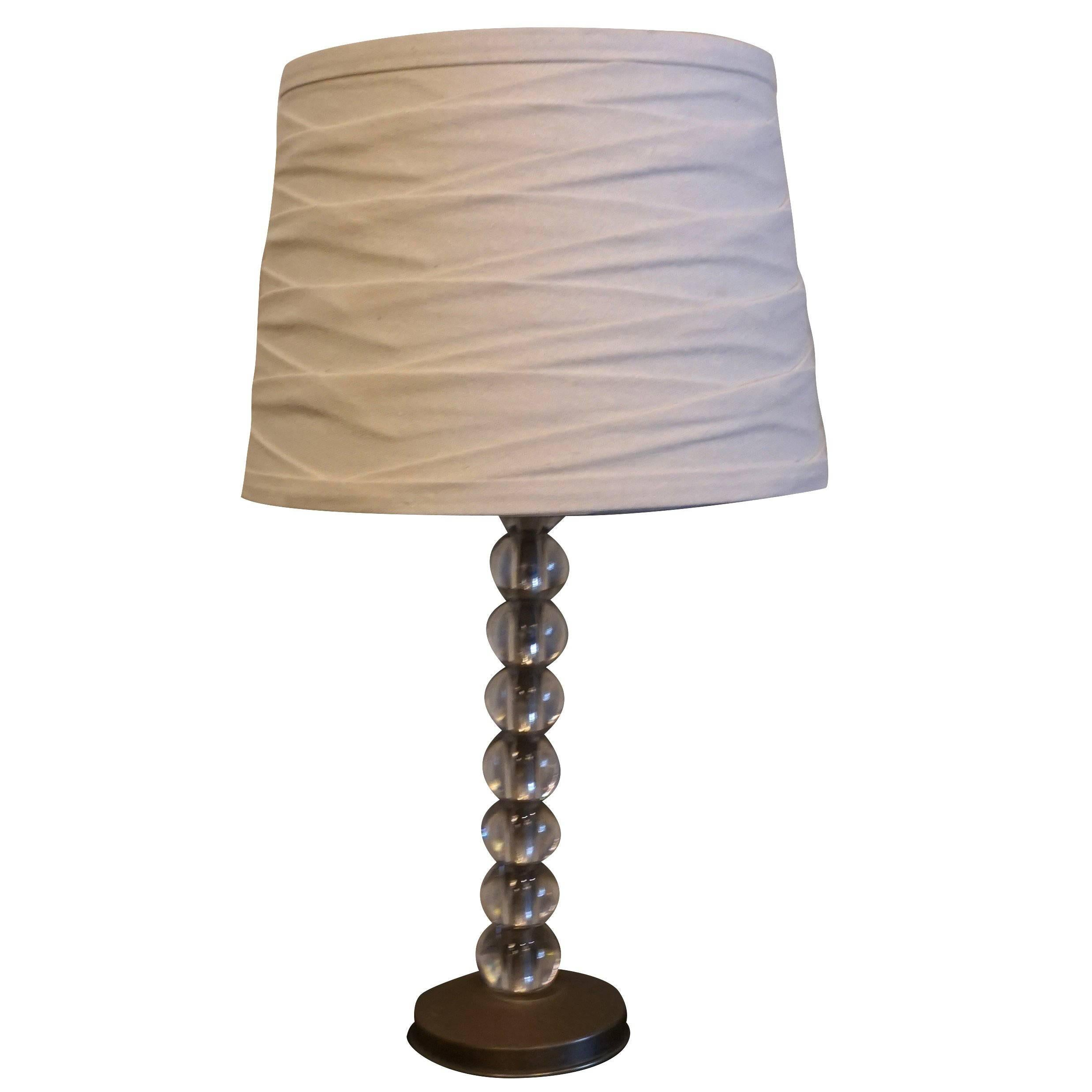 Huge Squatty Drip Glaze Lamp Mid Century Danish Modern For Sale