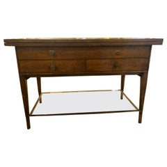 Mid-Century Modern Paul McCobb Flip Top Server Game or Small Dining Table