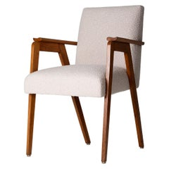 Midcentury Oak Armchair