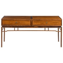 Midcentury Hardwood 'Rosewood' with a Chinese Influence, 1950