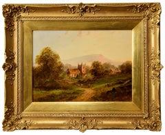 """A Midlands Village Church"" by Edward Partridge"