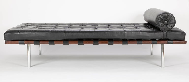 Modern Mies van der Rohe Daybed Strongly Attributed to Knoll For Sale