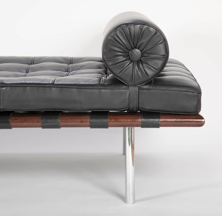 Late 20th Century Mies van der Rohe Daybed Strongly Attributed to Knoll For Sale