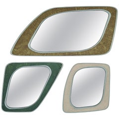 """A-Mirrors"" Set of Three Mirrors by Ivan Paradisi, Italy"