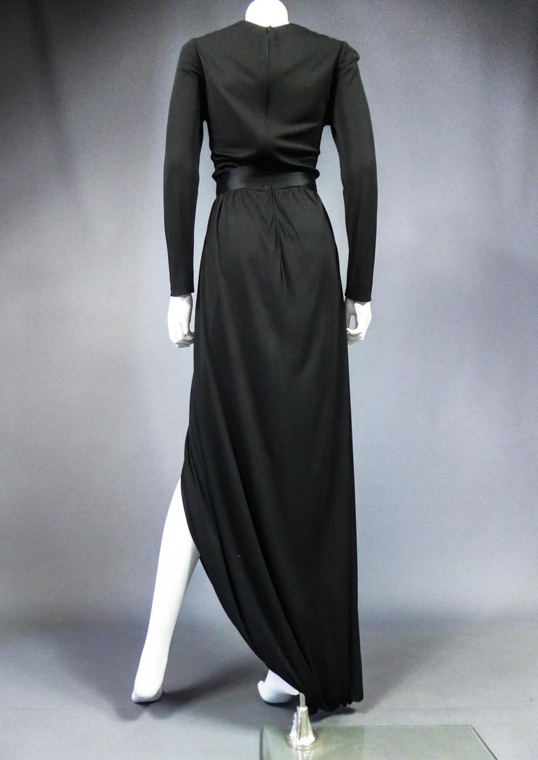 A Miss Dior Evening Dress by Philippe Guibourgé Circa 1970 For Sale 5