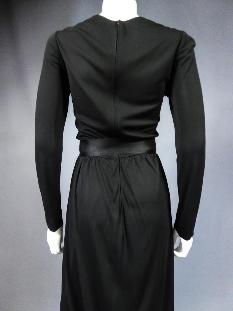 A Miss Dior Evening Dress by Philippe Guibourgé Circa 1970 For Sale 6