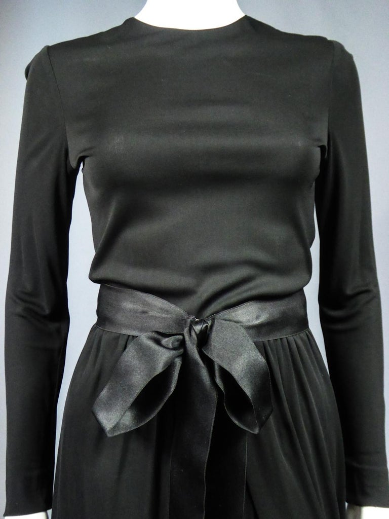 A Miss Dior Evening Dress by Philippe Guibourgé Circa 1970 For Sale 7