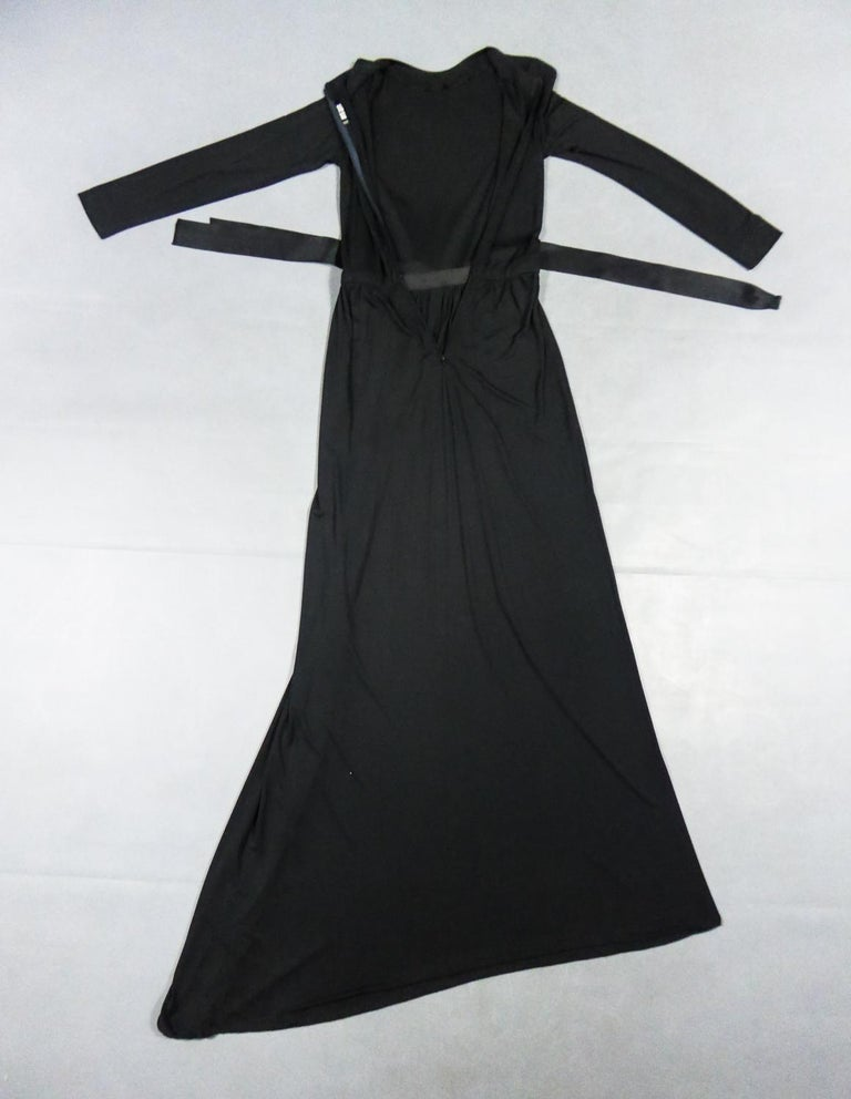 A Miss Dior Evening Dress by Philippe Guibourgé Circa 1970 For Sale 9