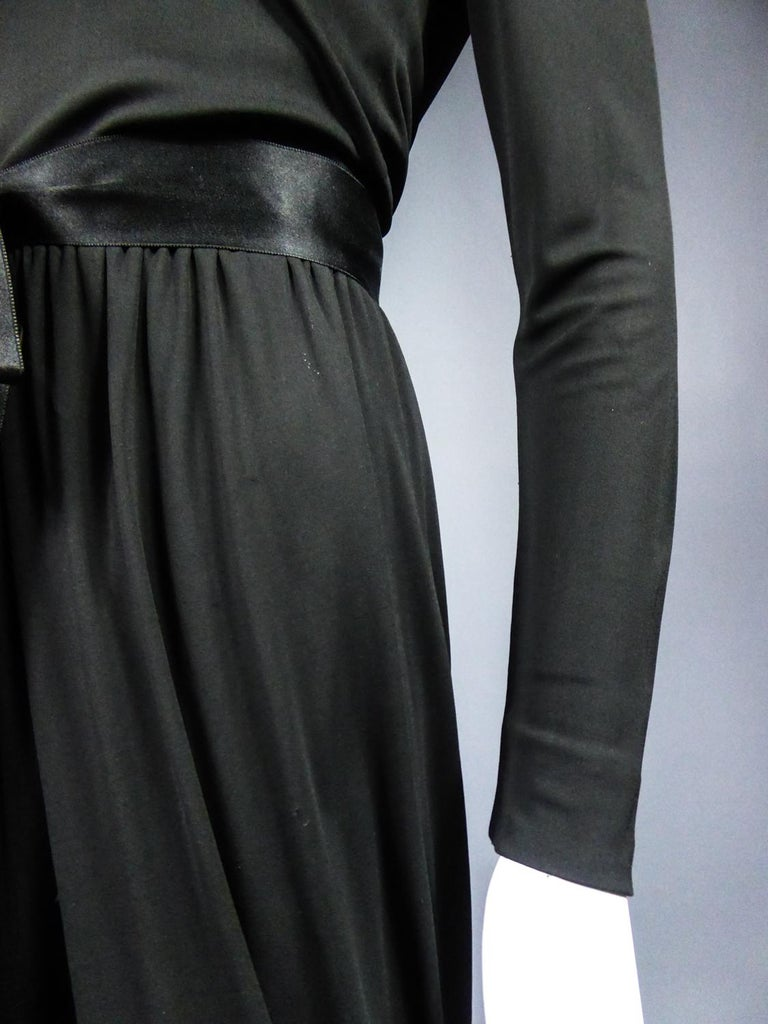 A Miss Dior Evening Dress by Philippe Guibourgé Circa 1970 For Sale 1