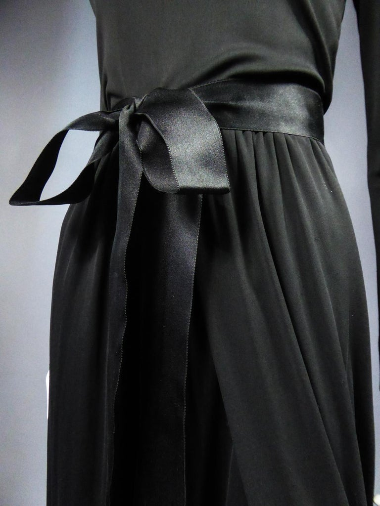 A Miss Dior Evening Dress by Philippe Guibourgé Circa 1970 For Sale 2