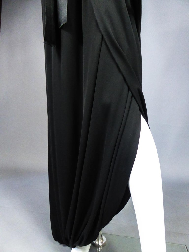 A Miss Dior Evening Dress by Philippe Guibourgé Circa 1970 For Sale 3