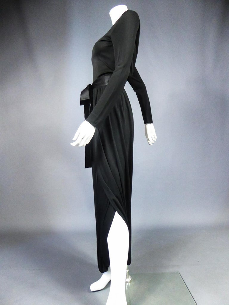 A Miss Dior Evening Dress by Philippe Guibourgé Circa 1970 For Sale 4