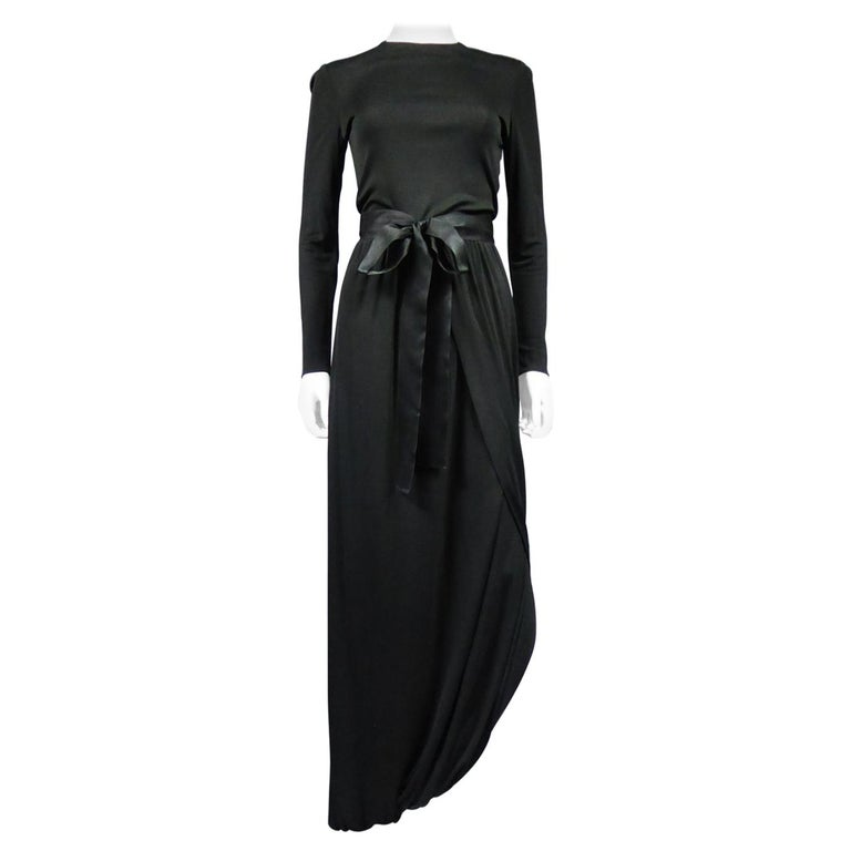 A Miss Dior Evening Dress by Philippe Guibourgé Circa 1970 For Sale