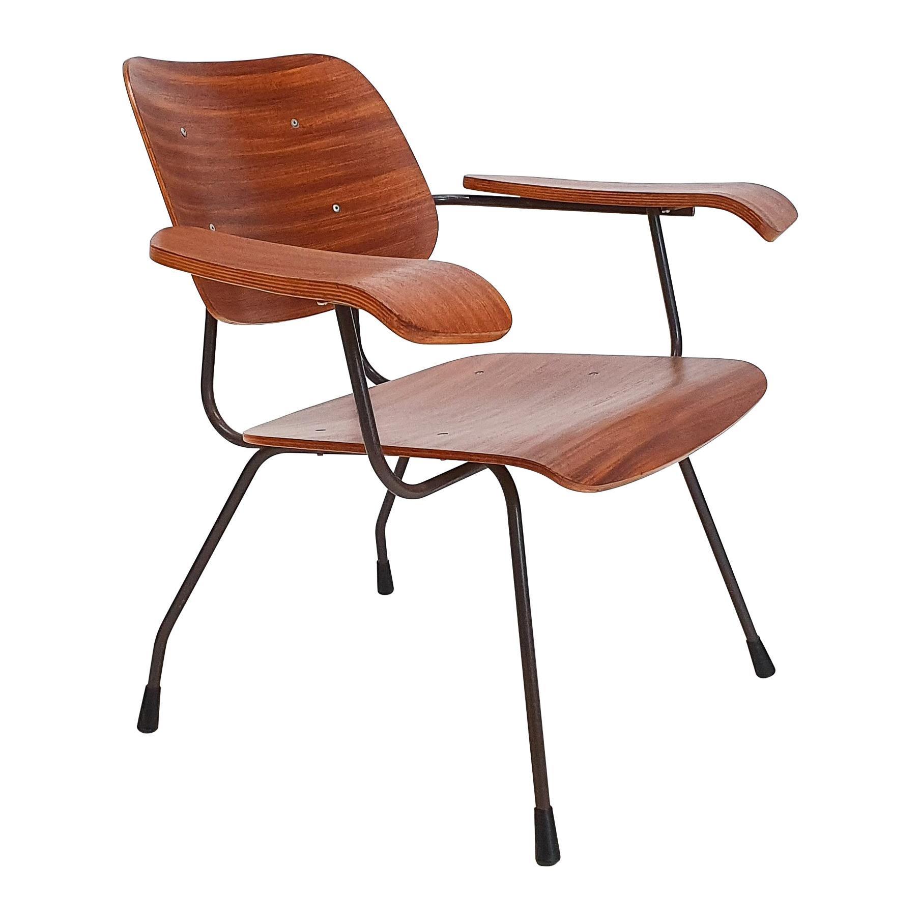 Model 8000 Easy Chair by Tjerk Reijenga for Pilastro, Netherlands, 1960s