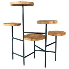 Modernist Plant Stand, circa 1950s