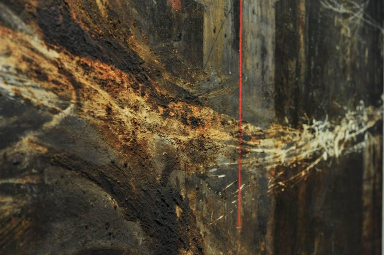 Monumental, 1950s Abstract Painting In Good Condition For Sale In London, GB