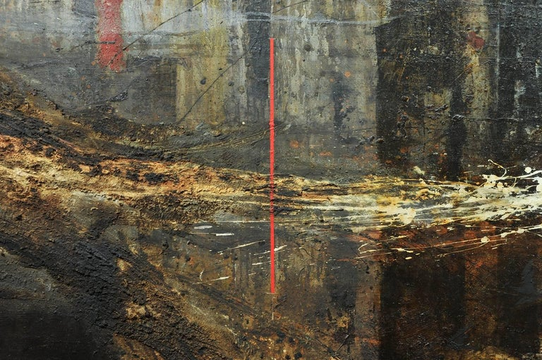 Monumental, 1950s Abstract Painting For Sale 1