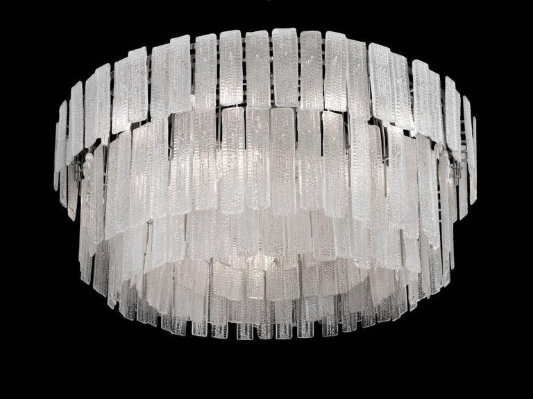 Post-Modern Monumental 20th Century Chandelier Commissioned for the QE2 For Sale
