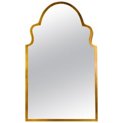 Moroccan Antiqued Gilt Wall or Console Mirror