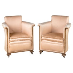 Most Attractive Pair of Late 1920s Art Deco Chairs
