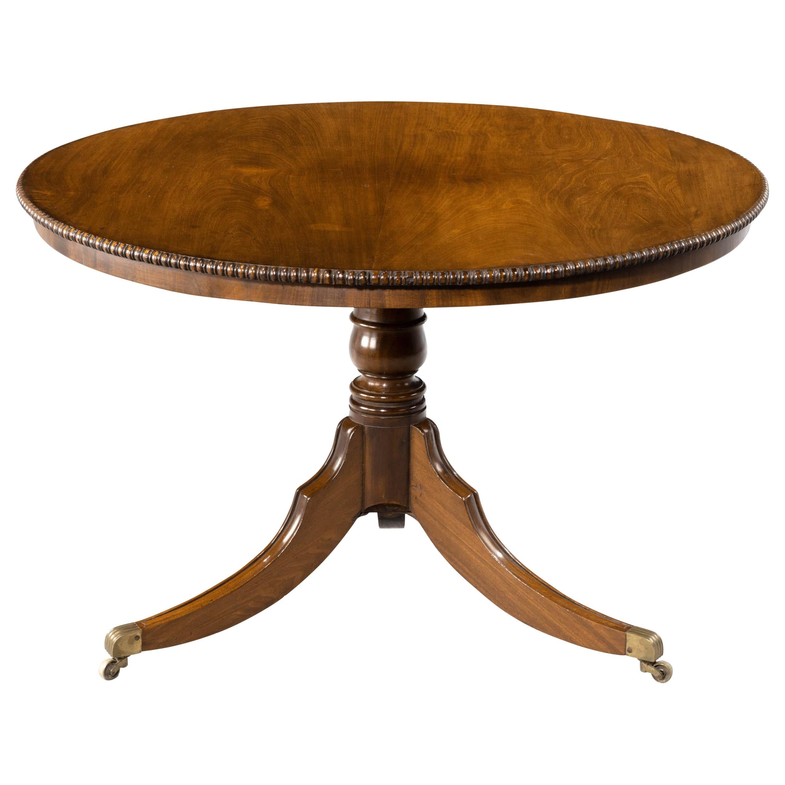 Most Attractive Regency Period Tilt-Top Dining Table