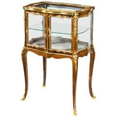 Napoleon III Kingwood Bijouterie Table, circa 1860