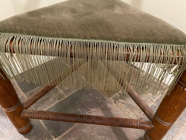 Norse Revival Armchair In Good Condition For Sale In New York, NY