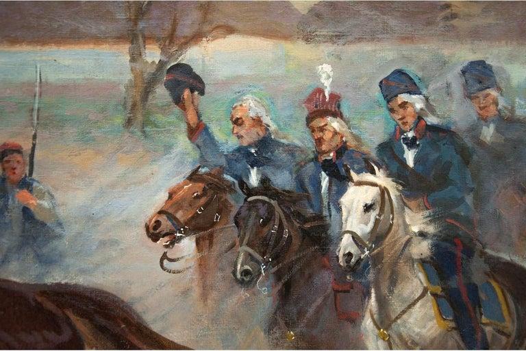 Mid-20th Century Painting by Władysław Borowicki For Sale