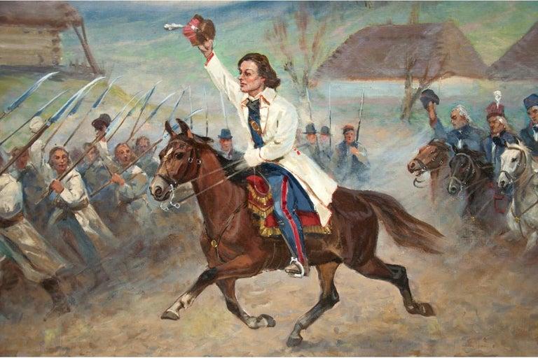 Painting by Władysław Borowicki For Sale 1