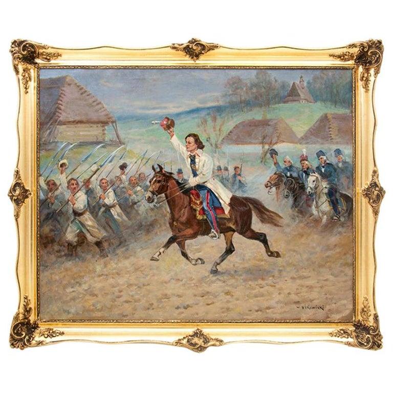 Painting by Władysław Borowicki For Sale
