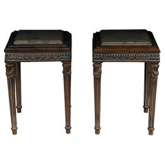 Pair '2' 20th Century Louis XV Style French Side Table