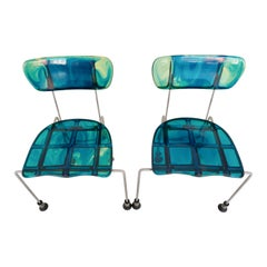 Pair of Broadway Chairs by Gaetano Pesce for Bernini, Italy, 1993