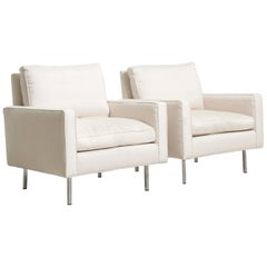 Pair Easy Chairs Model 25 Bc by Florence Knoll