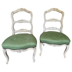 Pair of 18th Century Louis XV Side Chairs