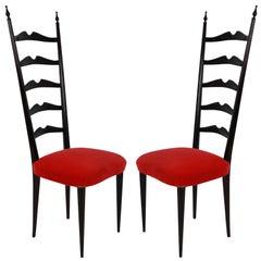 Paolo Buffa Style Chairs