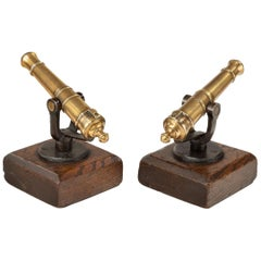 Pair of 19th Century Bore Signal Guns