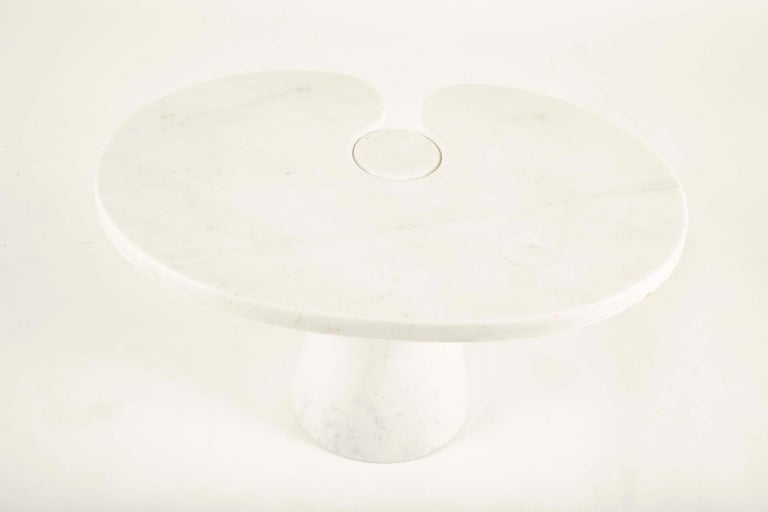 Late 20th Century Pair of Angelo Mangiarotti Carrara Side Tables for Skipper Sold Individually For Sale